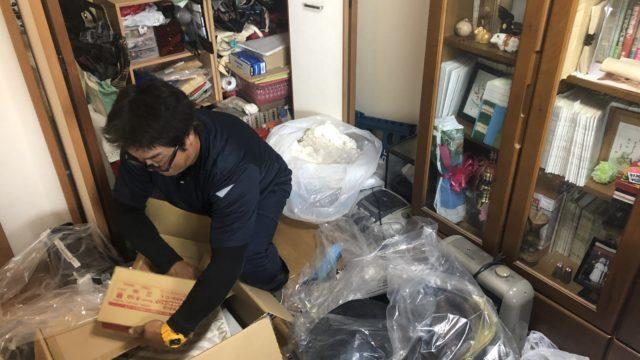 福岡市東区 家財整理 寝室整理