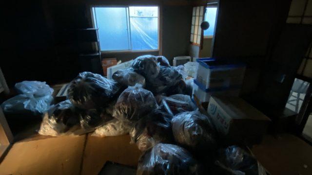 北九州市若松区にて実家解体の前の遺品整理2日目