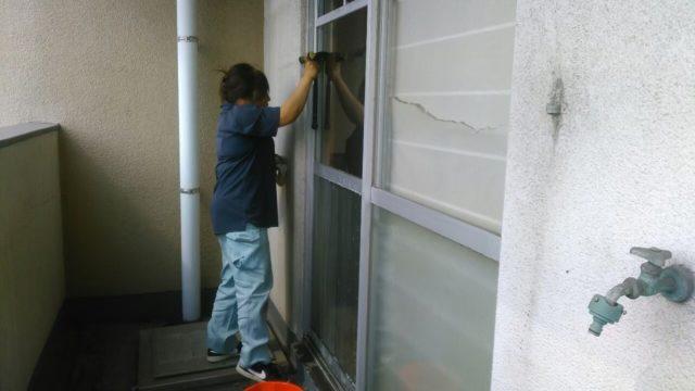 北九州市八幡西区にて特殊清掃3日目、室内清掃