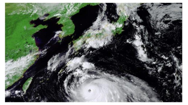 台風10号 家族に連絡を