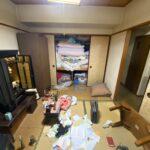 八幡東区で2LDKのマンションの遺品整理を行いました。
