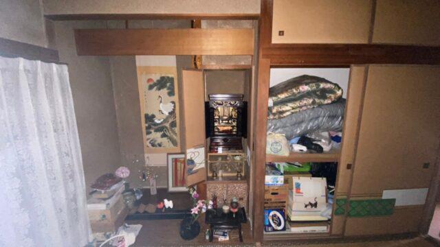 筑紫野市で遺品整理を行いました。